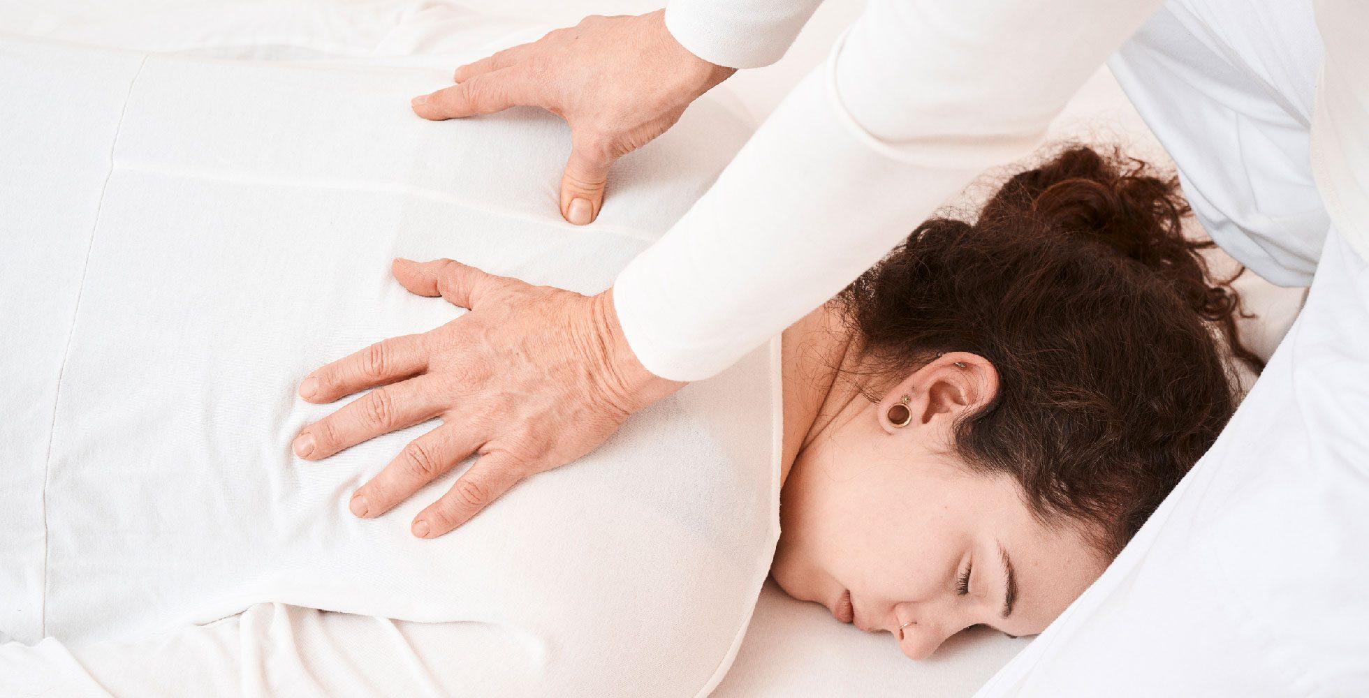 Rücken Behandlung, Gabi Frank Shiatsu